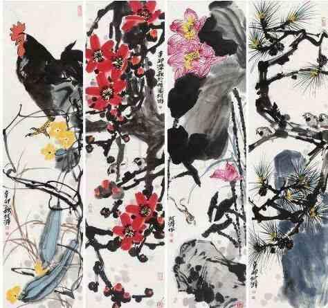 孤芳共赏——郑阿湃国画展在广州举办