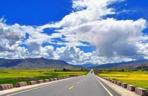 G318線西藏仁布段實行雙向交通管制